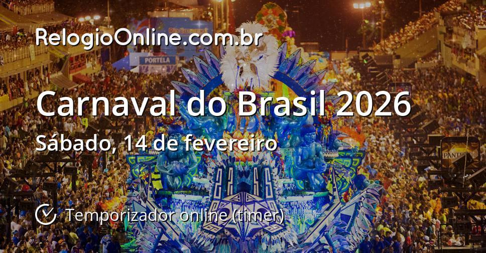 Carnaval do Brasil 2026