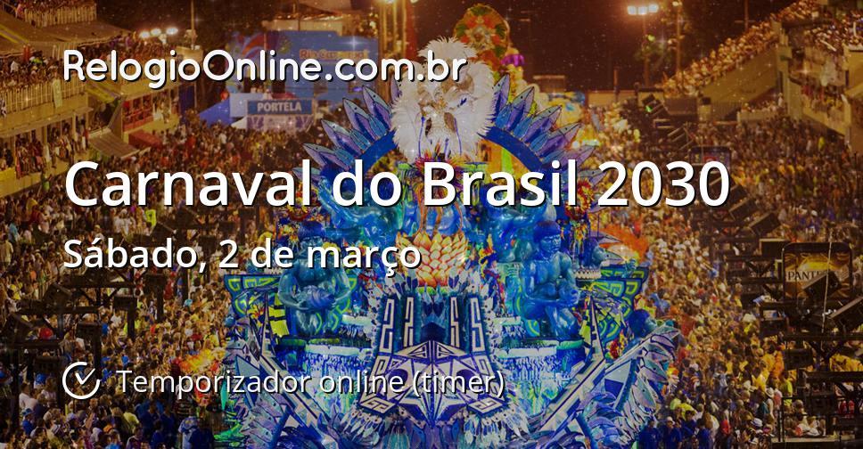 Carnaval do Brasil 2030