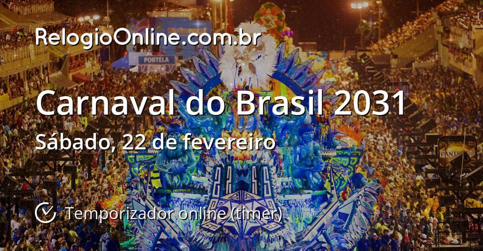Carnaval do Brasil 2031