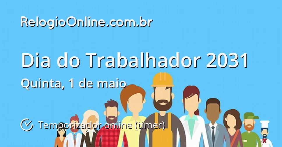Dia do Trabalhador 2031