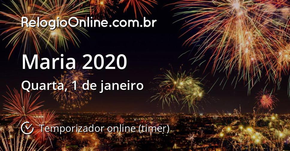 Maria 2020
