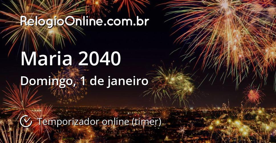 Maria 2040