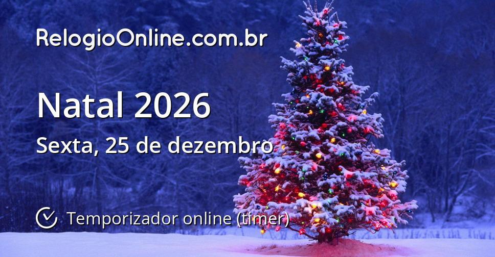 Natal 2026