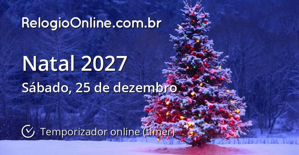 Natal 2027