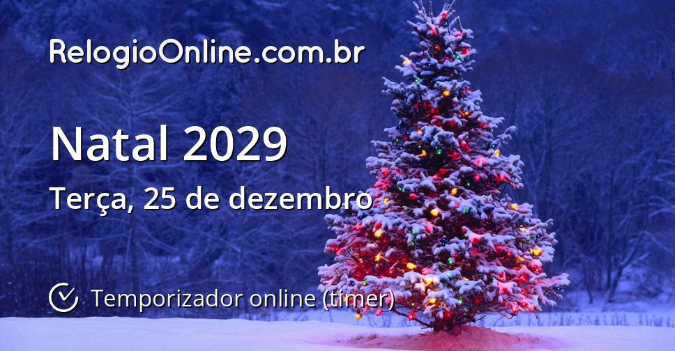 Natal 2029