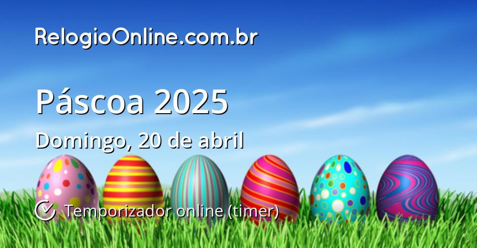Páscoa 2025